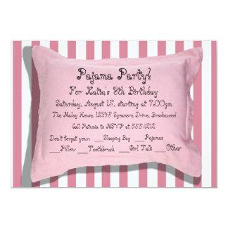 Pyjama-Party Einladungen