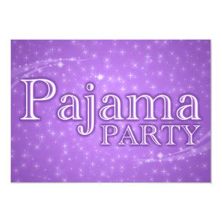 Pyjama-Party Einladungen: starshine 12,7 X 17,8 Cm Einladungskarte