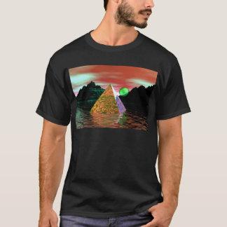 Pyramid with green sun T-Shirt