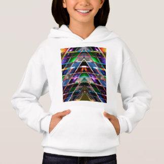 PYRAMIDE - genießen Sie heilendes Energie-Spektrum Hoodie