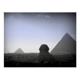 Pyramide und Sphinx Postkarten