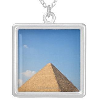 Pyramide von Khufu Versilberte Kette