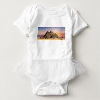 Pyramiden Baby Strampler