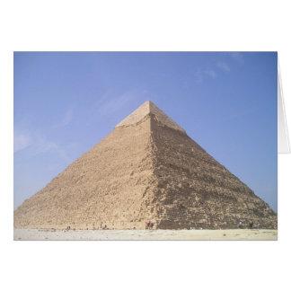 Pyramiden leerer Karte Ägyptens