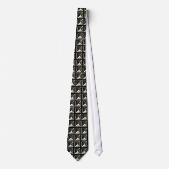 Pyramiden-Nieten Krawatte