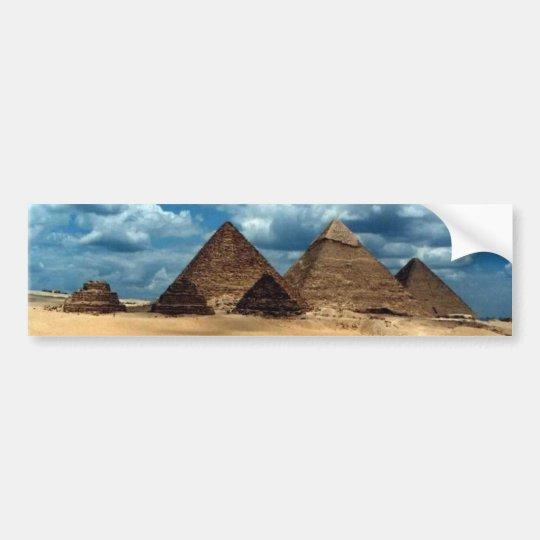 Pyramiden von Gizeh Autoaufkleber