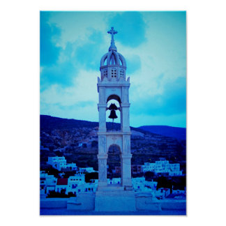 Pyrgos Ansicht Poster