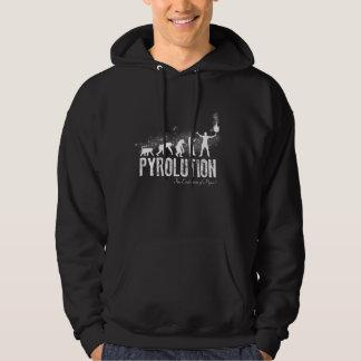 Pyrolution - die Evolution von Pyros Kapuzenpulli
