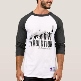 Pyrolution - die Evolution von Pyros T-Shirt