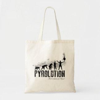 Pyrolution - die Evolution von Pyros Budget Stoffbeutel