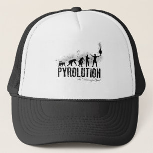 Pyrolution - die Evolution von Pyros Truckerkappe