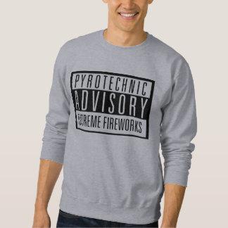 Pyrotechnic Advisory – Extreme Fireworks Sweatshirts
