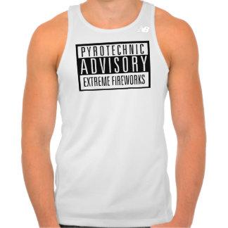 Pyrotechnic Advisory – Extreme Fireworks T-shirt