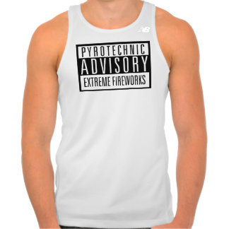 Pyrotechnic Advisory – Extreme Fireworks Tanktop