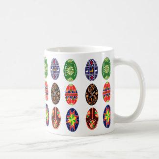 Pysanky Ukrainer-Ostereier Kaffeetasse
