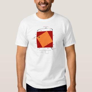 Pythagoras-Demonstration - Mathe ist schön T-shirt