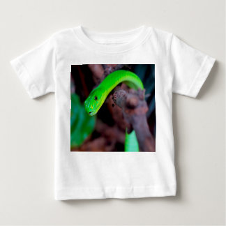 Pythonschlange-Schlange Baby T-shirt