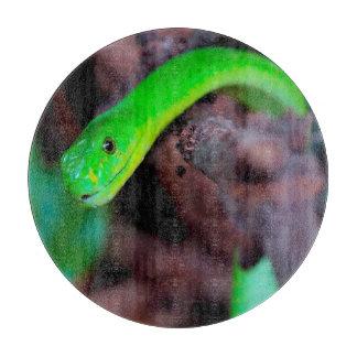 Pythonschlange-Schlange Schneidebrett