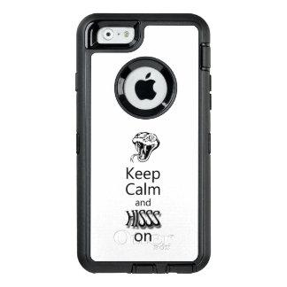 Pythonschlange-Zischen OtterBox iPhone 6/6s Hülle