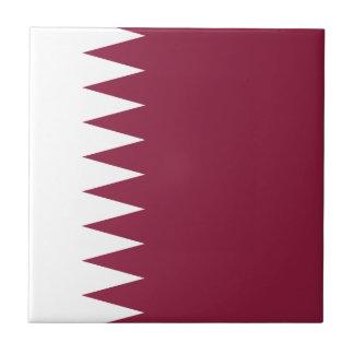 Qatar-Flagge Fliese