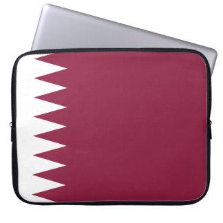 Qatar-Flagge Laptop Sleeve