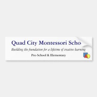 QCMS SchulAutoaufkleber Autoaufkleber