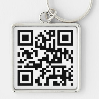 QR Code - Gespräch nerdy zu mir! Schlüsselanhänger