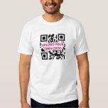 QR Code kundengerecht T-Shirts