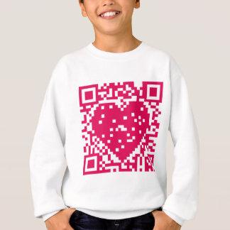 QR Code - Liebe Sweatshirt