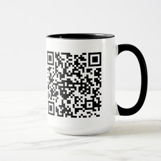 QR-Code Tasse