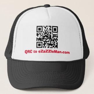 QRC zu eZaZZleMan.com - Werbungs-Hut/Kappe Truckerkappe
