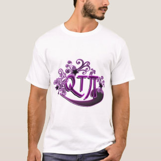QTPi Lauthübsches Mädchen Süsse-Torten-IE T-Shirt