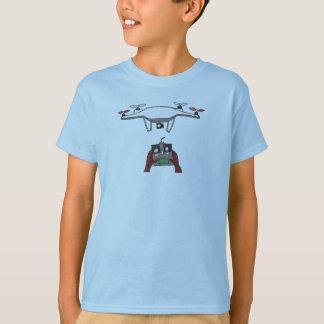 Quadcopter Drohne-Bild-T - Shirt