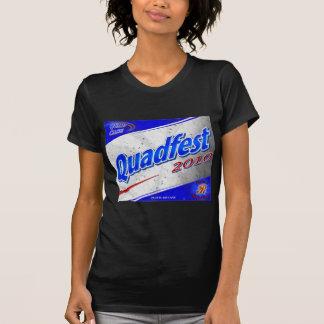 Quadfest Ladys zierliches T-Stück 2010 (dunkel) T-Shirt