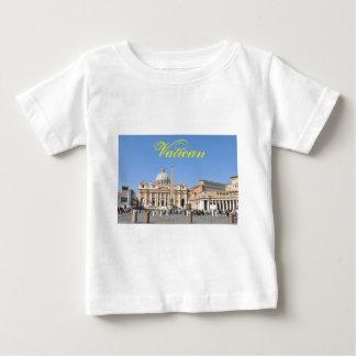 Quadrat Sans Pietro in Vatikan, Rom, Italien Baby T-shirt