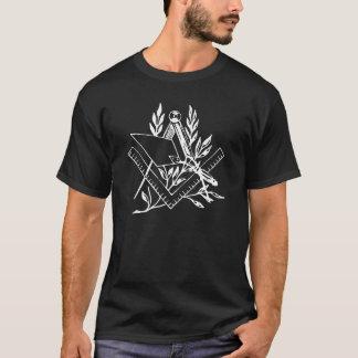 Quadrat und Kompass mit Trowel T-Shirt