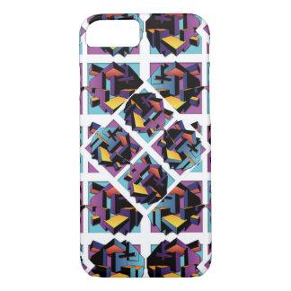 Quadrate 3D iPhone 8/7 Hülle