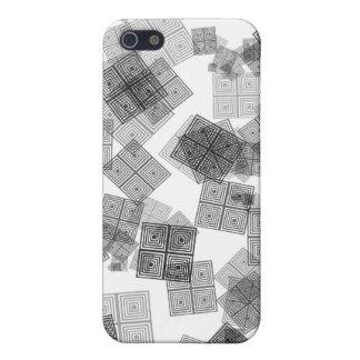 Quadrate und Stellen-Entwurf iPhone 5 Case