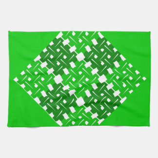Quadratisch grün küchenhandtuch