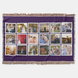 Quadratische Fotos Instagram kundenspezifische Decke