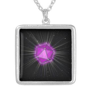 quadratische Halskette - Prismacodejuwel von Orion
