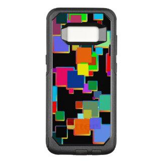 Quadratische Minimalisten mit Konturnsteigung OtterBox Commuter Samsung Galaxy S8 Hülle
