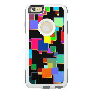Quadratische Minimalisten mit Konturnsteigung OtterBox iPhone 6/6s Plus Hülle