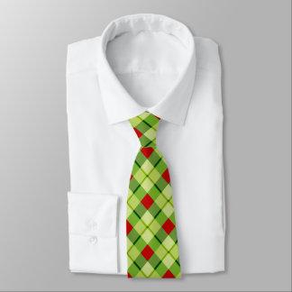 Quadratische MusterweihnachtenKrawatte Krawatte