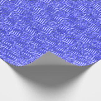 Quadratische Punkt-Kugel Geschenkpapier