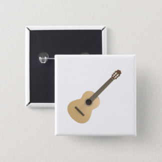Quadratischer Knopf-klassische Gitarre Quadratischer Button 5,1 Cm