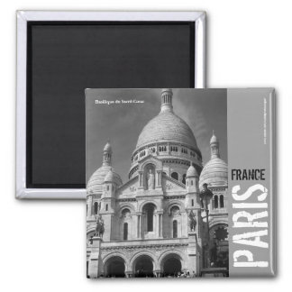 Quadratischer Magnet Basilique du Sacré-Cœur Paris