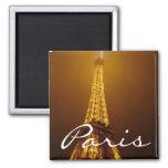 Quadratischer Magnet Paris Kühlschrankmagnete