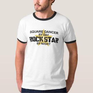 Quadratischer Tänzer-Rockstar bis zum Nacht Shirts