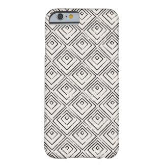 Quadratischer Telefon-Kasten - Onyx Barely There iPhone 6 Hülle